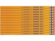 The Board Dudes Board Dudes #2 US Gold Unsharpened Pencils - 1 DZ/BX