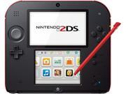 Nintendo 2DS Handheld Gaming System- Crimson Red