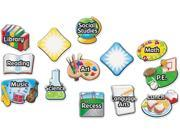 LEARNING RESOURCES LER3226 MAGNETIC SUBJECT LABELS REVAMP