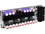 HDPLEX Hi-Fi 250W DC-ATX Power Supply (400W Peak) (16V-24V DC input), Low ripple noise, Modular ATX output, Dual heatsink and >94% Efficiency,Support 7.4X5.0mm DC Input Jack.