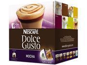 Coffee Capsules, Mocha, 2.23Oz, 16/Box