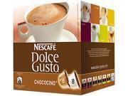 Coffee Capsules, Chococino, 2.67 oz., 16 per Box