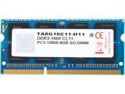 V-Color Apple Series 8GB DDR3 1600 (PC3 12800) Unbuffered Memory for Apple Model TA8G16C11-H11