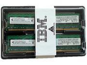 IBM 8GB (2 x 4GB) 240-Pin DDR2 SDRAM DDR2 400 (PC2 3200) ECC Registered Server Memory Kit Model 30R5145