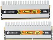 CORSAIR 2GB (2 x 1GB) 240-Pin DDR3 SDRAM DDR3 1333 (PC3 10600) Dual Channel Kit Desktop Memory Model TWIN3X2048-1333C9DHX