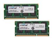 Crucial 16GB (2 x 8G) 204-Pin DDR3 SO-DIMM DDR3L 1600 (PC3L 12800) Laptop ...