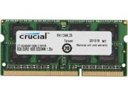 Crucial 8GB 204-Pin DDR3 SO-DIMM DDR3 1600 (PC3 12800) Laptop Memory Model CT102464BF160B
