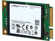 Crucial M500 CT240M500SSD3 240GB Mini-SATA (mSATA) MLC Internal Solid State Drive (SSD)