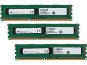Crucial 12GB (3 x 4GB) 240-Pin DDR3 SDRAM ECC Unbuffered DDR3 1600 (PC3 12800) Server Memory Model CT3KIT51272BD160B