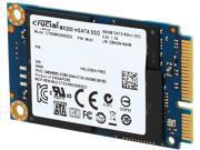 Crucial MX200 CT500MX200SSD3 mSATA 500GB SATA 6Gbps (SATA III) Micron 16nm MLC NAND Internal Solid State Drive (SSD)