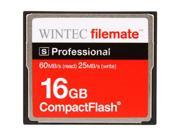 Wintec FileMate S Professional 16GB Compact Flash (CF) Flash Card Model 3FMCF16GBS-R