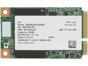 Intel 525 Series SSDMCEAC060B301 60GB Mini-SATA (mSATA) MLC Internal Solid State Drive (SSD)