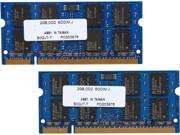 PNY Optima 4GB (2 x 2GB) 200-Pin DDR2 SO-DIMM DDR2 667 (PC2 5300) Dual Channel Kit Laptop Memory Model MN4096KD2-667