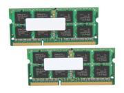 PNY 8GB (2 x 4GB) 204-Pin DDR3 SO-DIMM DDR3 1333 (PC3 10666) Laptop Memory Model MN8192KD3-1333