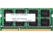 PNY 8GB 204-Pin DDR3 SO-DIMM DDR3L 1600 (PC3L 12800) Laptop Memory Model MN8192SD3-1600-LV