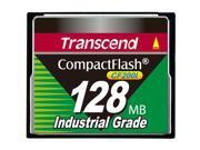 Transcend CF200I 128 MB CompactFlash (CF) Card - 1 Card