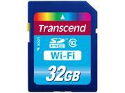 Transcend 32GB WiFi-SDHC Flash Card Model TS32GWSDHC10