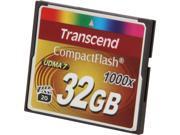 Transcend Ultimate 32GB Compact Flash (CF) Flash Card Model TS32GCF1000