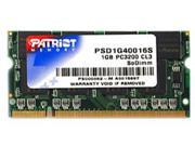 Patriot Signature 1GB 200-Pin DDR SO-DIMM DDR 400 (PC 3200) Laptop Memory Model PSD1G40016S