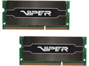 Patriot Viper SODIMM 16GB (2 x 8G) 204-Pin DDR3 1600 (PC3 12800) Laptop MemoryModel PV316G160LC9SK - Retail