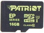 Patriot Patriot EP Series 16GB microSDHC Flash Card Model PEF16GEMCSHC10