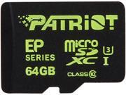 Patriot Patriot EP Series 64GB microSDXC Flash Card Model PEF64GEMCSXC10