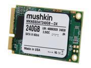 Mushkin Enhanced Atlas Series MKNSSDAT240GB-DX 240GB Mini-SATA (mSATA) MLC Internal Solid State Drive (SSD)