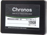 "Mushkin Enhanced Chronos MKNSSDCR120GB-G2 2.5"" 120GB SATA III MLC Internal Solid State Drive (SSD)"