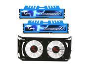 G.SKILL Ripjaws X + Turbulence II Series 8GB (2 x 4GB) 240-Pin DDR3 SDRAM DDR3 1866 (PC3 14900) Desktop Memory Model F3-14900CL8D-8GBXMD