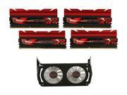 G.SKILL Trident X Series 16GB (4 x 4GB) 240-Pin DDR3 SDRAM DDR3 2666 (PC3 21300) Desktop Memory Model F3-2666C11Q-16GTXD