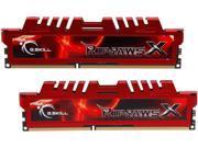 G.SKILL Ripjaws X Series 8GB (2 x 4GB) 240-Pin DDR3 SDRAM DDR3 2133 (PC3 17000) Desktop Memory Model F3-2133C9D-8GXL