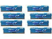 G.SKILL Ripjaws Z Series 64GB (8 x 8GB) 240-Pin DDR3 SDRAM DDR3 2400 (PC3 19200) Desktop Memory Model F3-2400C11Q2-64GZM