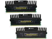CORSAIR Vengeance 12GB (3 x 4GB) 240-Pin DDR3 SDRAM DDR3 2000 (PC3 16000) Desktop Memory Model CMZ12GX3M3A2000C10
