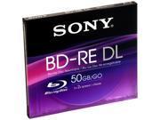 SONY  50G  BD-RE DL x 1 - 50 GB - Storage MediaModel BNE50B