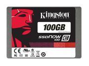 "Kingston SSDNow E100 100GB 2.5"" SATA III Enterprise Solid State Drive SE100S37/100G"