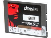 """Kingston SKC300S3B7A/120G 2.5"""" 120GB SATA Internal Solid State Drive (SSD)"""