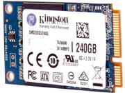Kingston SSDNow mS200 SMS200S3/240G mSATA 240GB SATA 6Gb/s Internal Solid State Drive (SSD)