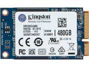 Kingston SSDNow mS200 SMS200S3/480G mSATA 480GB SATA 6Gb/s Internal Solid State Drive (SSD)
