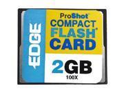 EDGE Tech 2GB ProShot CompactFlash Card - 100x