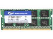 Team Elite 4GB 204-Pin DDR3 SO-DIMM DDR3 1333 (PC3 10600) Laptop Memory Model TSD34096M1333C9-E