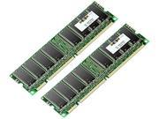 HP 1GB (2 x 512MB) 184-Pin DDR SDRAM DDR 266 (PC 2100) ECC Registered System Specific Memory Model 300679-B21