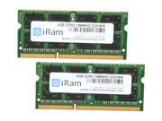 iRam 8GB (2 x 4GB) DDR3 1066 (PC3 8500) Memory for Apple Model IR8GSO1066D3K