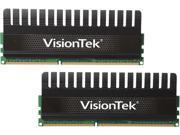 Visiontek 8GB (2 x 4GB) 240-Pin DDR3 SDRAM DDR3 1600 (PC3 12800) Black Label Desktop Memory Model 900408