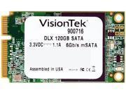 VisionTek DLX 900716 mSATA 120GB SATA III Internal Solid State Drive (SSD)