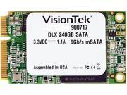 VisionTek DLX 900717 mSATA 240GB SATA III Internal Solid State Drive (SSD)