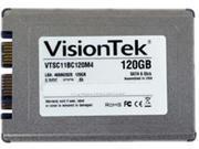 "VisionTek Go Drive 900755 1.8"" 120GB SATA III MLC Internal Solid State Drive (SSD)"