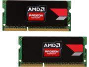 AMD Radeon R5 Entertainment Series 8GB (2 x 4GB) 204-Pin DDR3 SO-DIMM DDR3L 1600 (PC3L 12800) Laptop Memory Model R538G1601S1LK