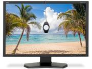 """NEC Display Solutions P242W-BK-SV Black 24"""" 8ms HDMI Widescreen LED Backlight IPS LCD Monitor with SpectraView II"""