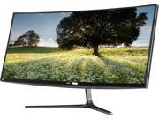 "LG 34UC97 Black 34"" Ultrawide 21:9 WQHD IPS Curved Monitor LED Backlight LCD, 300 cd/m2 100,000:1, Dual HDMI / Dual ThunderBolt ports, 2xUSB 3.0 ports, Built-In Speakers"