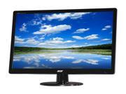 "Refurbished: Acer S Series S230HL Abd Black 23"" 5ms Widescreen LED Monitor"